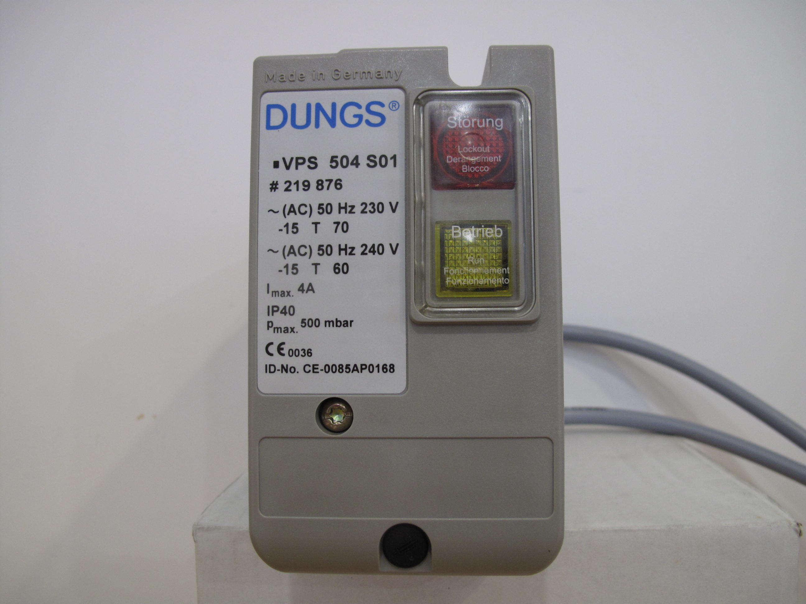 VPS 504 S01 DUNGS